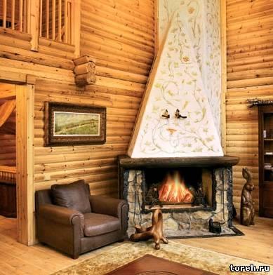Внутренний интерьер дома