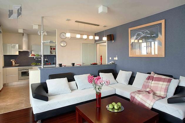 Дизайн интерьера кухни-гостиной - фото 3.