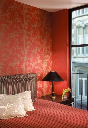 Красные стены обои дизайн