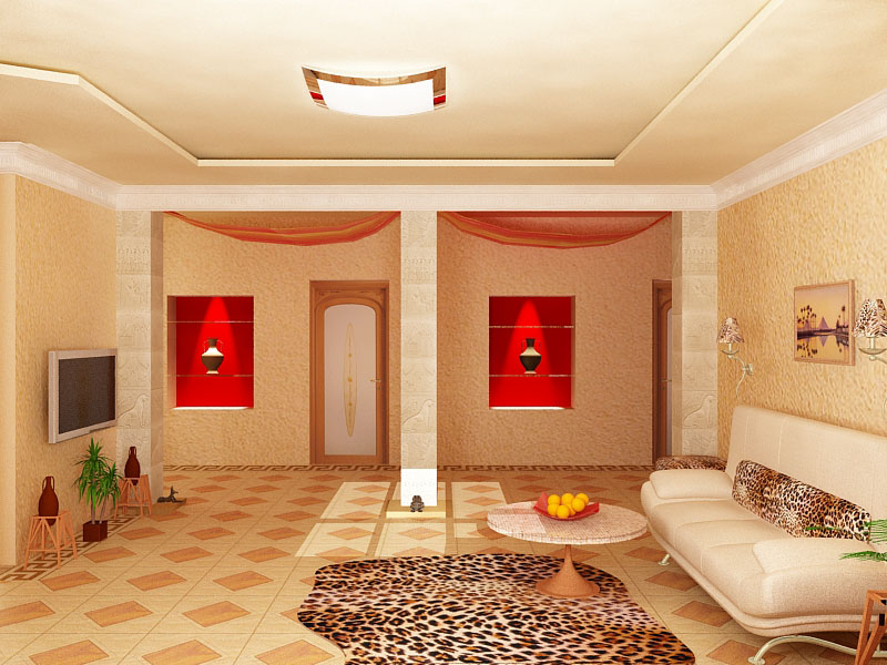 фото дизайнов квартир в египетском стиле