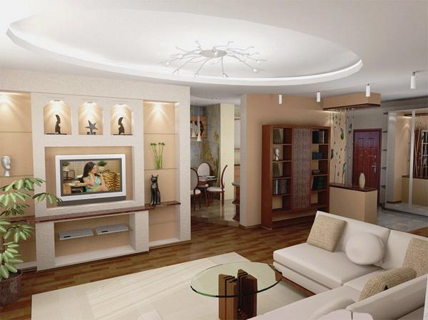 Гостиная комната - лицо дома. дизайн гостиной в квартире.