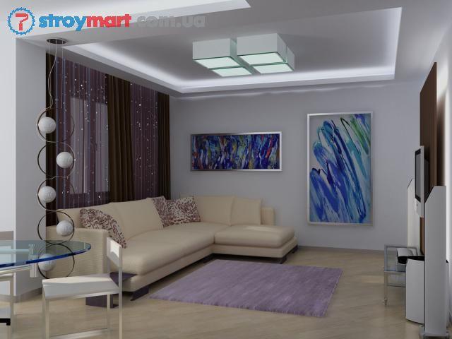 Гостиная с низким потолком дизайн