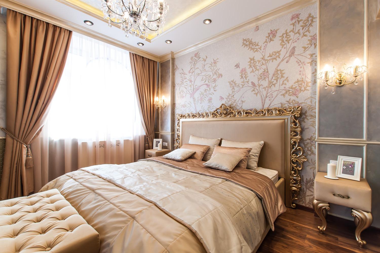 Ремонт спальной комнаты фото