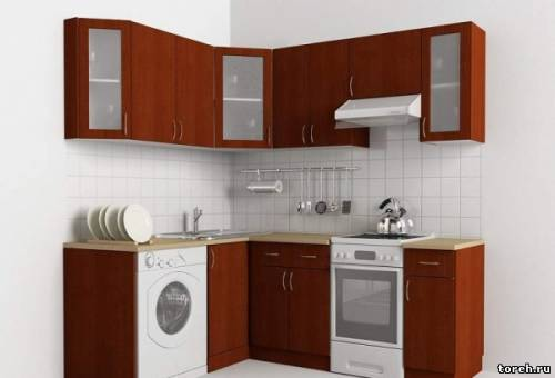 Дизайн малогабаритных кухонь