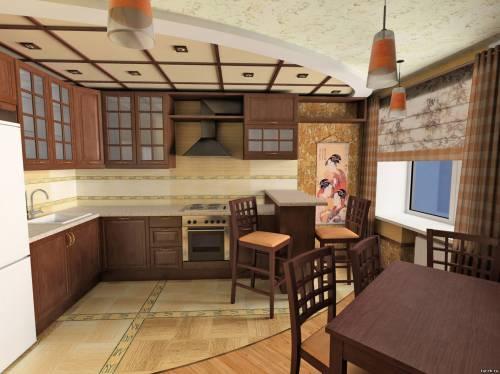 Дизайн кухни в восточном стиле фото