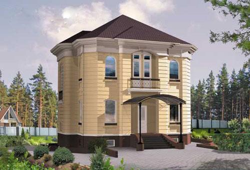 Фасады домов в классическом стиле