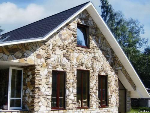 Оформление фасадов домов