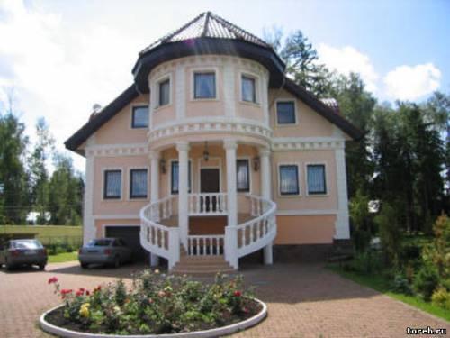 Фасады домов в картинках