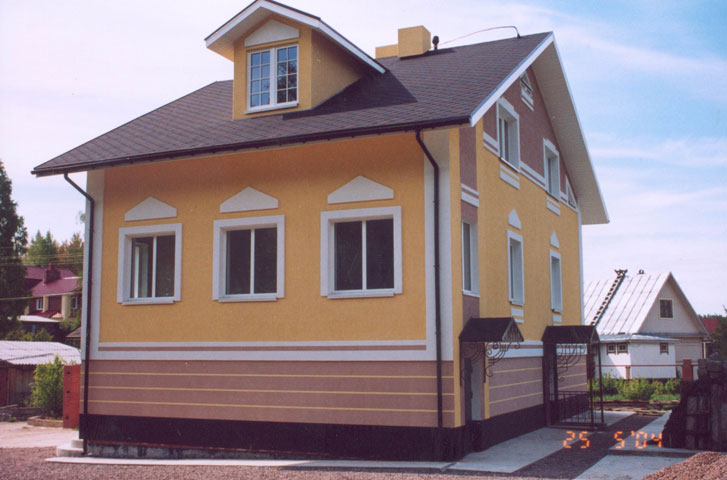 Дизайн облицовки дома
