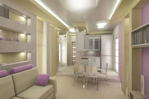 Гламурные интерьеры квартир