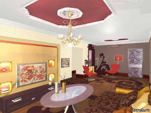 Интерьер 1 комнатной