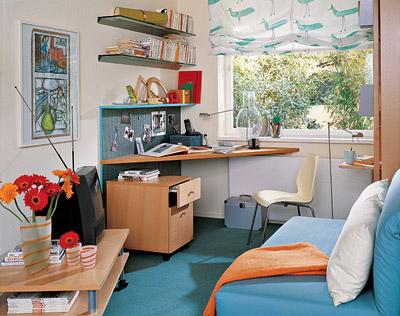 Простой интерьер маленькой квартиры