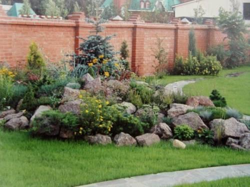 Ландшафтный дизайн двора фото